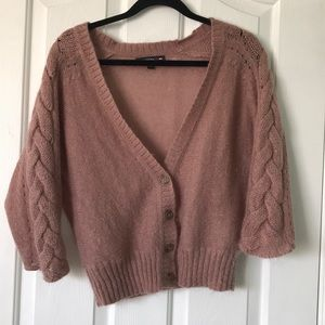 Banana Republic X Mad Men short sleeve cardigan